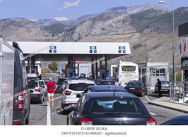 Hani i Hotit, Kastrat/Bozaj border crossing, Montenegro - Albania, MNE-ALB, September 2nd, 2018. (CTK Photo/Libor Sojka)