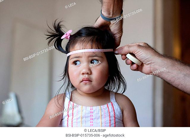 Consultation with a 2-year-old girl