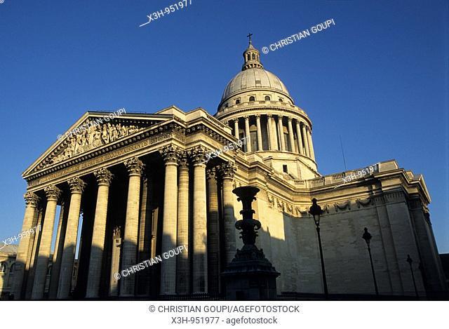 le Pantheon,Paris,Ile de France,France