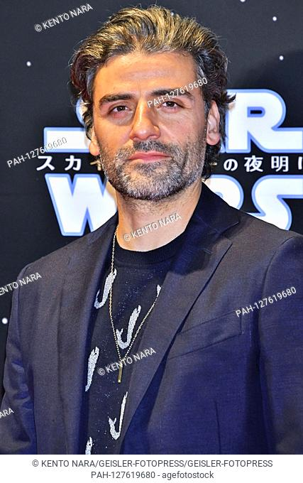Oscar Isaac at the premiere of the movie 'Star Wars: Episode IX - The Rise of Skywalker / Star Wars: Episode IX - The Rise of Skywalkers' in Roppongi Hills