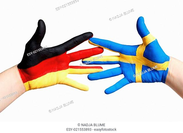 swedish and german hands
