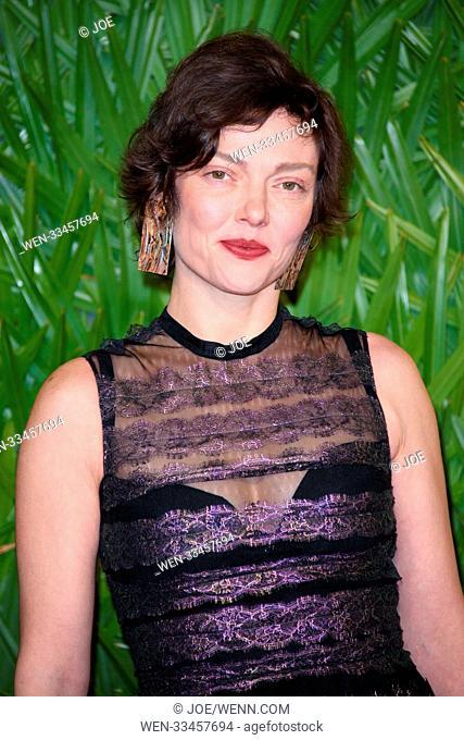 The British Fashion Awards 2017 at Royal Albert Hall Featuring: Camilla Rutherford Where: London, United Kingdom When: 04 Dec 2017 Credit: Joe/WENN