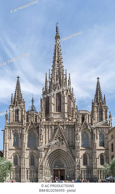 Towers on ornate church