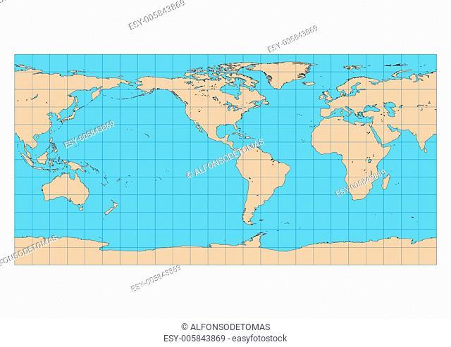 Equirectangular Americas