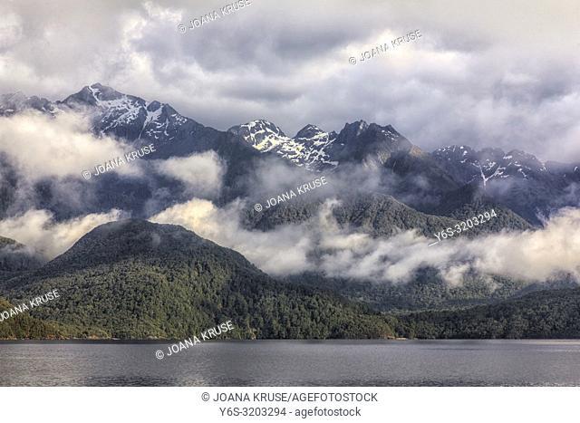 Doubtful Sound, South Island, Fiordland, New Zealand