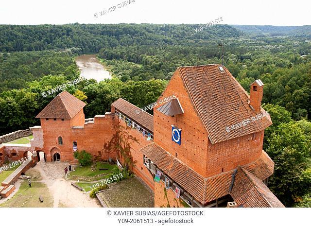 Turaida castle, Sigulda, Vidzeme, Latvia