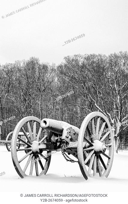 Manassas Battlefield Cannon US Civil War