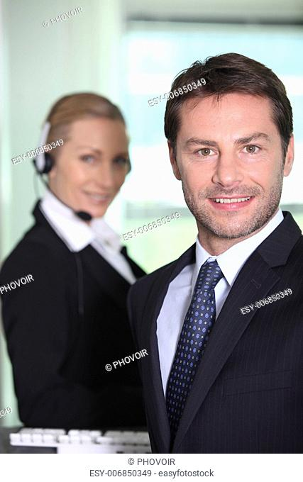 Telesales manager
