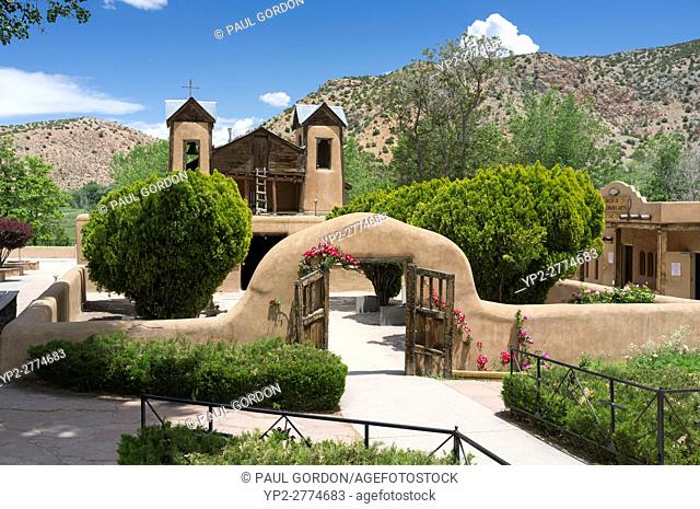 Chimayó, New Mexico: El Santuario de Chimayó. Famous for the story of its founding, the Roman Catholic church and shrine in a valley within the Sangre de Cristo...