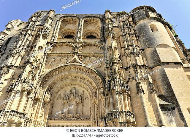 Basilica de Santa Maria de la Asuncion, Arcos de la Frontera, Cadiz province, Andalusia, Spain, Europe