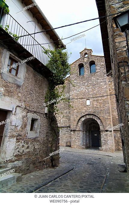 Romanesque church of San Pedro, Siresa. Huesca province, Aragon, Spain