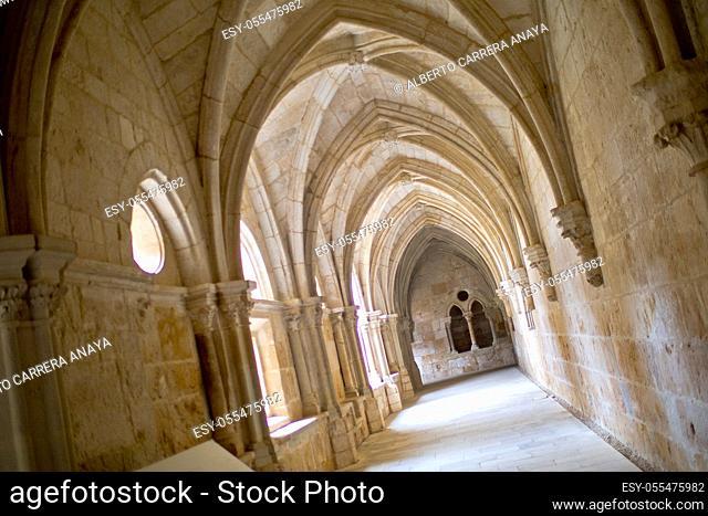 Monastery of Santa María de Huerta, Santa María de Huerta, Soria, Castilla y León, Spain, Europe