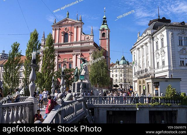 Franciscan Church of the Annunciation, Ljubljana, Slovenia