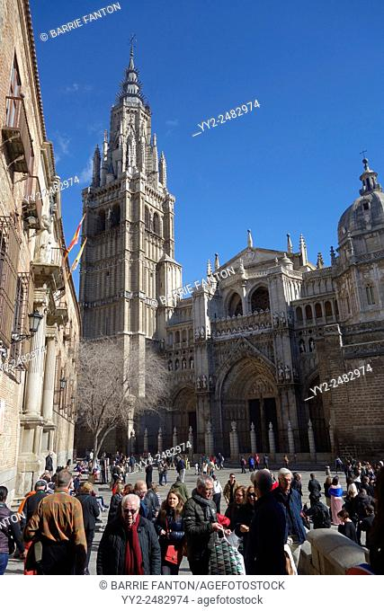 High Gothic Cathedral, Toledo, Spain