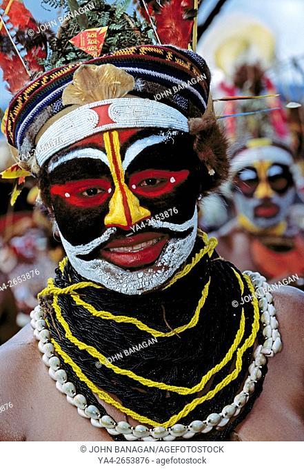 MR. Mt. Hagen Sing Sing, Papua New Guinea