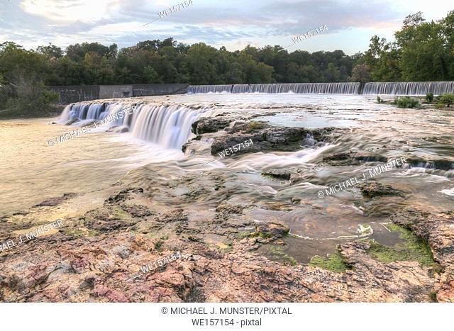Grand Falls in Joplin, Missouri