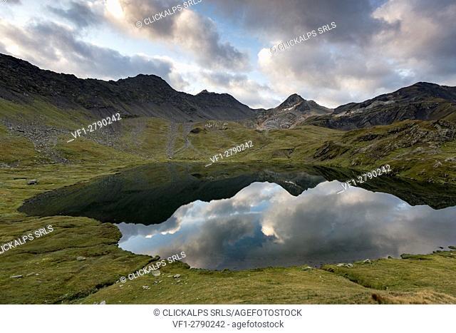 Fenetre Lake, Ferret valley, Switzerland