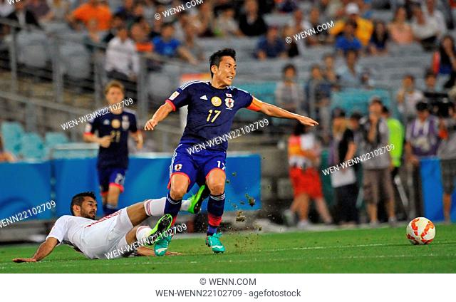 The United Arab Emirites has beaten Japan in the quarter finals of the Asian Football Championship Featuring: Makoto Hasebe Where: Sydney