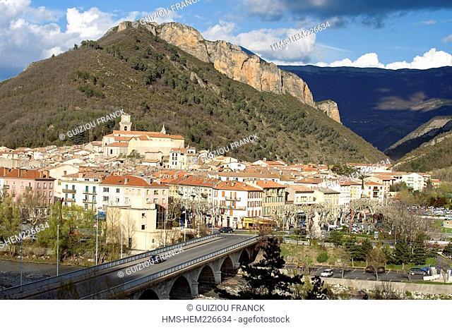 France, Alpes de Haute Provence, Digne les Bains, old city