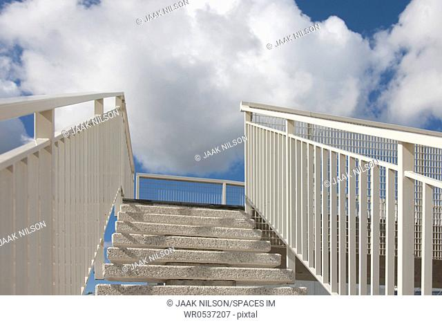 Stairs and Clouds