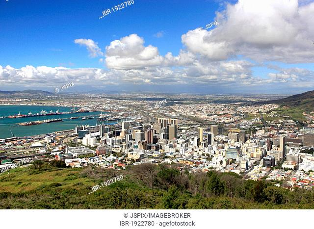 Cape Town, cityscape, clouds, South Africa, Africa