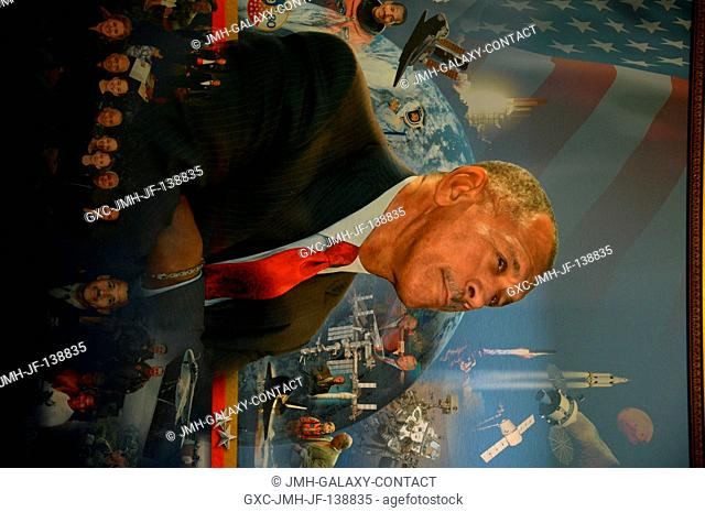 Portrait of Charles Bolden. Charles Bolden is displayed at the 2014 RNASA Space Awards Gala in Houston, Texas