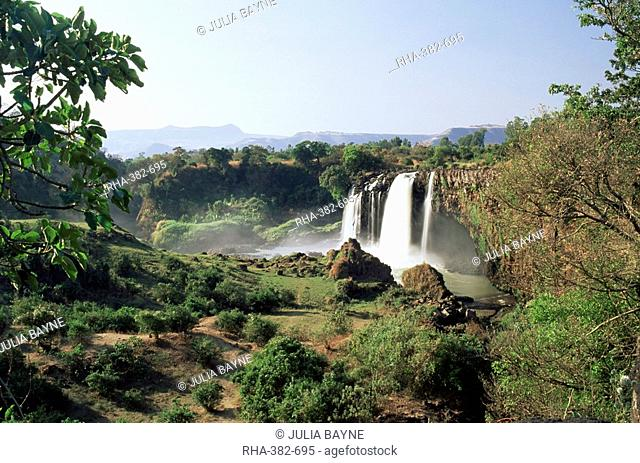 Tis Abay waterfall on the Blue Nile, Ethiopia, Africa