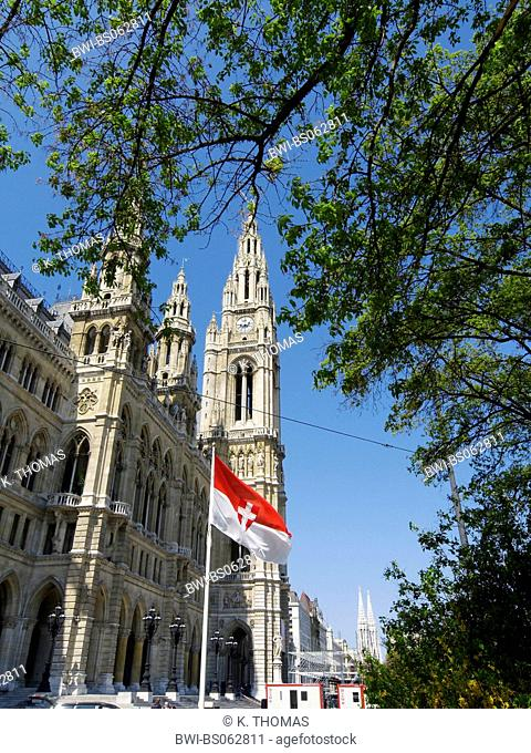 Vienna, city hall, Austria, Vienna, 1. district, Vienna - city hall