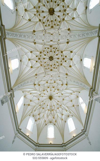 Vault of Santo Domingo church. Alcañiz. Teruel. Aragón. Spain