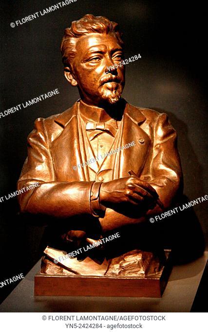 Bust of Gustave Eiffel 1832-1923