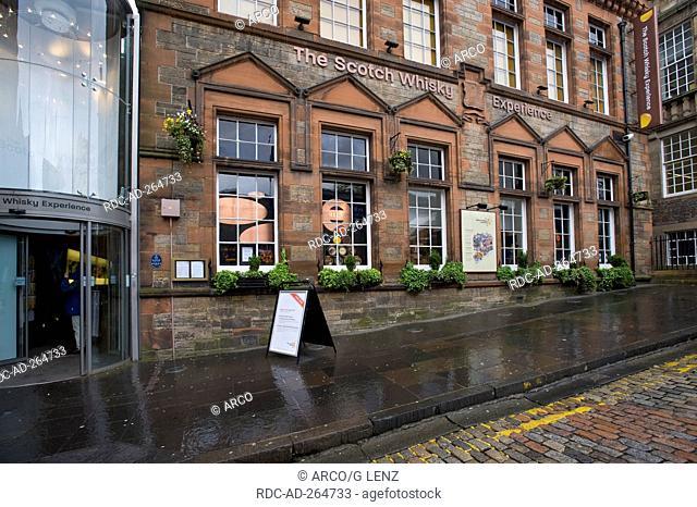 The Scotch Whisky Experience, Heritage Center, Edinburgh, Scotland