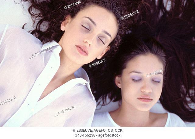 Women relaxed