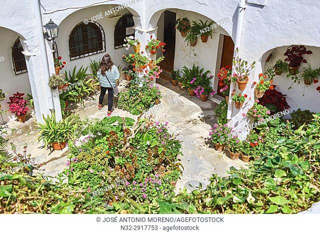 Vejer de la Frontera. Costa de la Luz. White Town, Cadiz Province. Andalucia. Spain