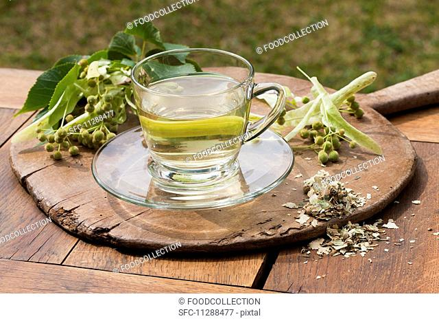 Lime flower tea