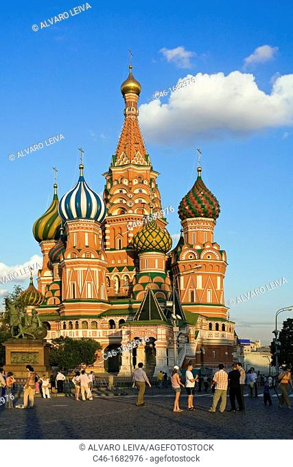 St  Basil«s cathedral, Red Square  Moscow  Russia