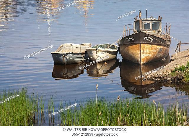 Latvia, Western Latvia, Kurzeme Region, Cape Kolka, Kolkasrags, Mersrags, Gulf of Riga fishing port