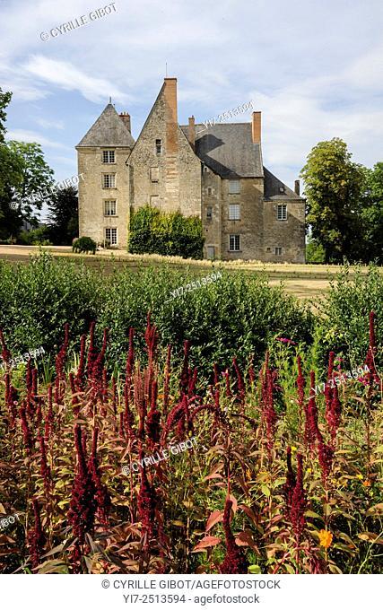 France, Indre et Loire, Sache castle, Balzac museum