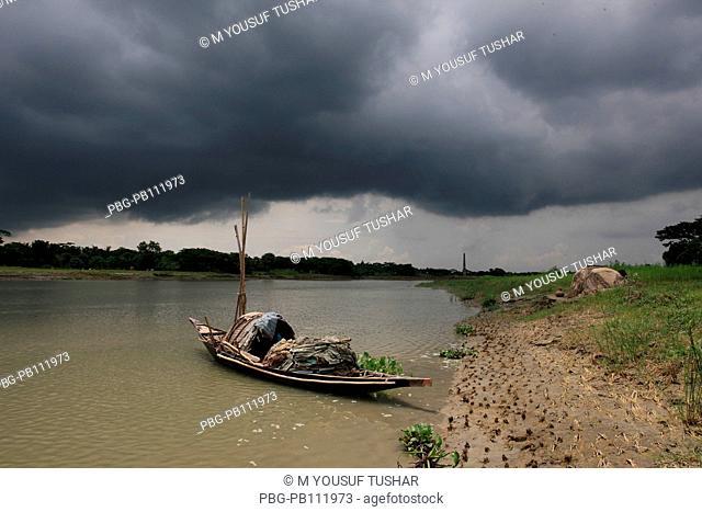 Madhumati raver at Narail District of Bangladesh