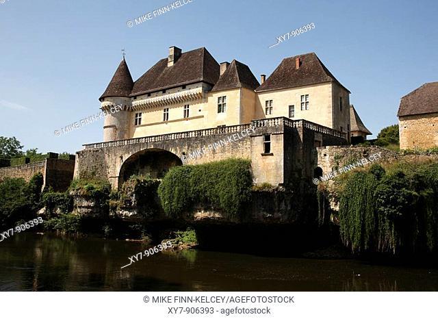 Chateau de Losse in the Dordogne region of France