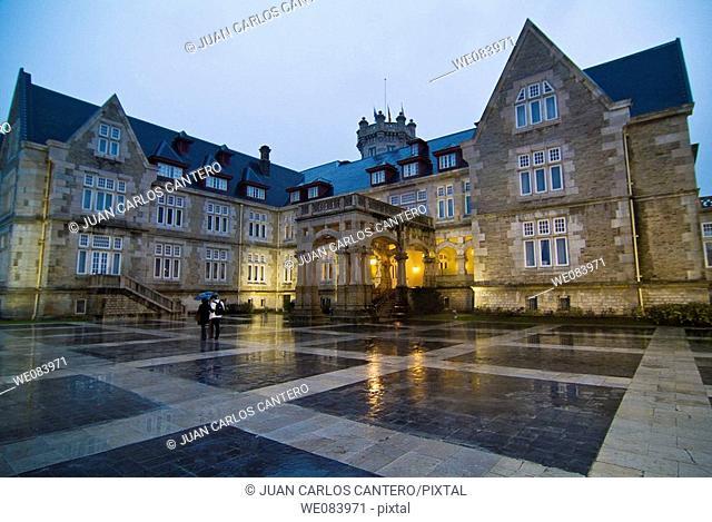 Palacio de La Magdalena, Santander. Spain
