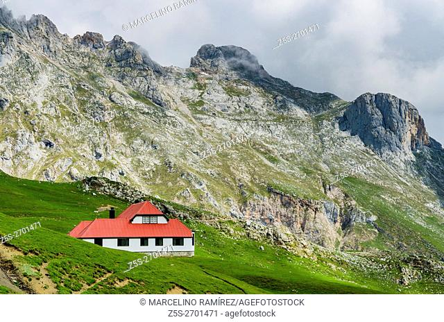 """""""Chalet Real"""". It is a villa built by the Real Company Asturiana de Minas, a residence for engineers, but was instead host of King Alfonso XIII in 1912 on a..."