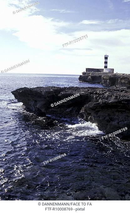 Coast Colonia San Jordi, Spain