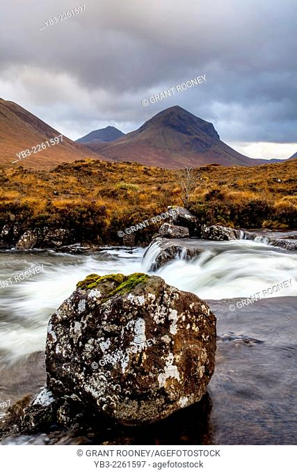 Mountain Scenery, Isle of Skye, Scotland