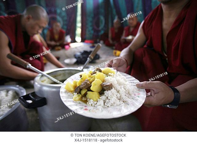 Tibetan Monks in Kathmandu, Nepal