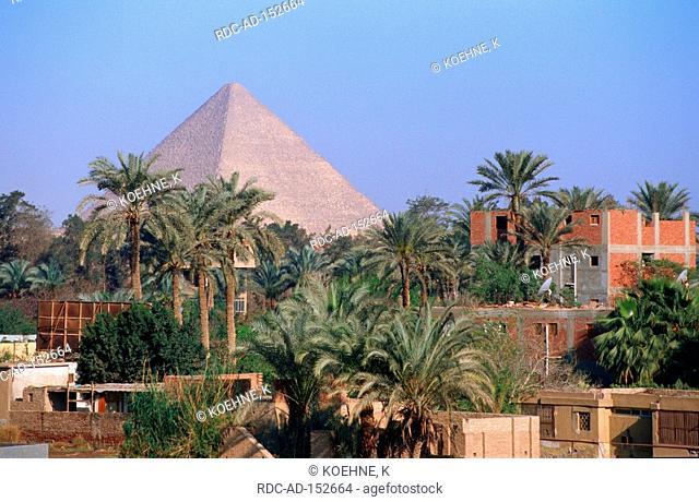 Cheops Pyramid Giza Egypt