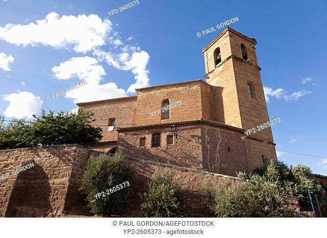 Church of Our Lady of the Angels in Azofra - La Rioja, Spain