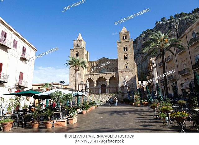 Duomo di Cefalu, Sicily, Italy