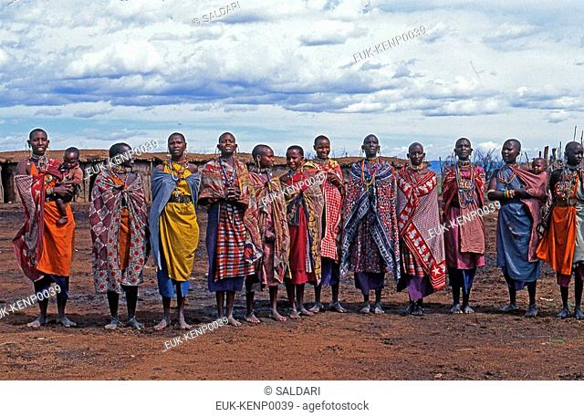 Maasai Women,Kenya