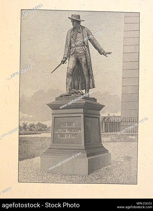 Colonel William Prescott. June 17, 1775. Irving, Washington (1783-1859) (Author). Emmet Collection of Manuscripts Etc. Relating to American History