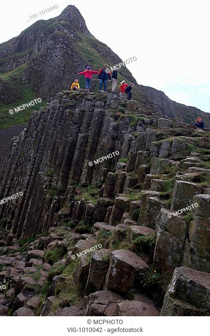 Giant's Causeway - Irland; Nordirland, 27/08/2005